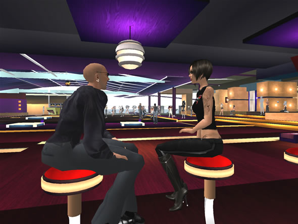 5th Element Club in Second Life offers dancing and intimate areas to chat