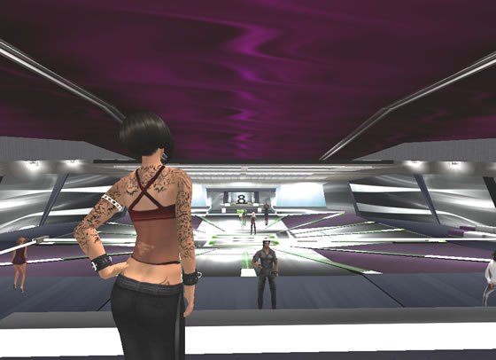 SL's 8th Element offers a spacious dance floor.