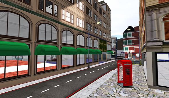 Second Life London Sim
