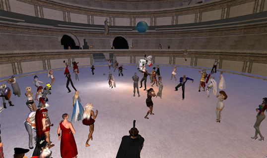 Dancing at The Colosseum