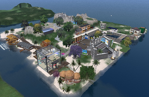 Aloft Island on Second Life