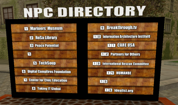 Nonprofit Commons Project Directory