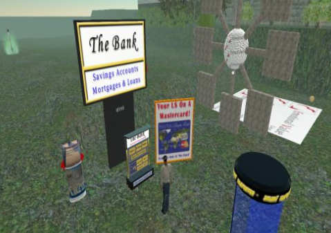 Second Life Money, banking industry