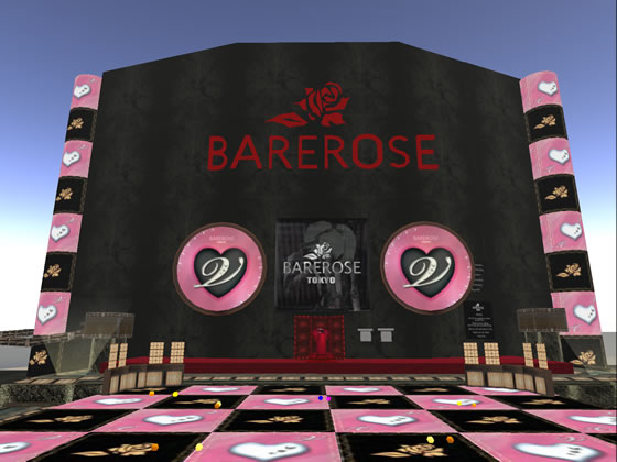 Bare Rose Tokyo, Second Life's newest fashion house boasts thousands of designs for very reasonable prices.