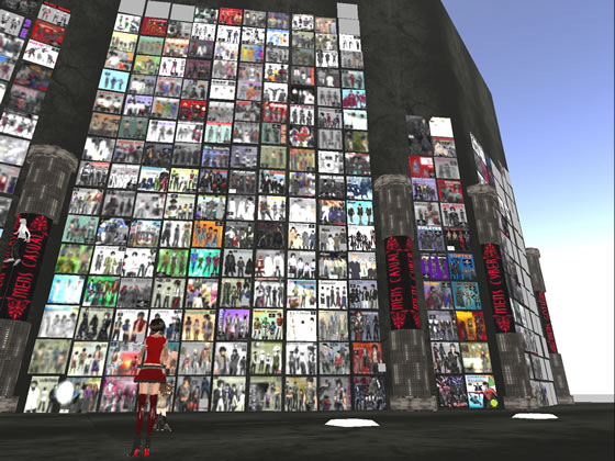 Bare Rose's wall of fashion towers over SL residents with literally thousands of available outfits.