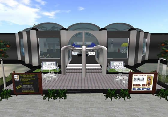 CPA Island houses conference and training facilities for the MCPA in Second Life
