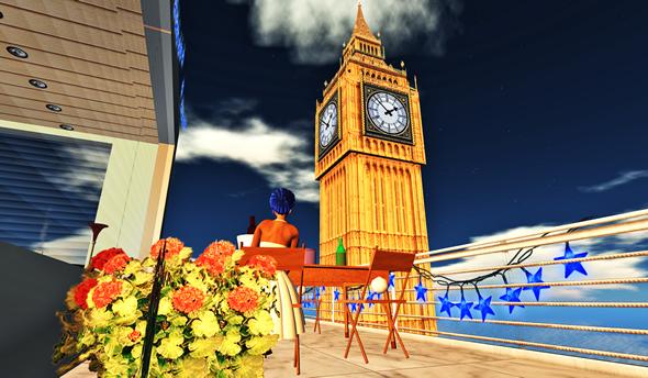 Second Life Big Ben on Chelsea sim