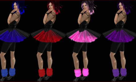 Second Life costume given out in party gift bag