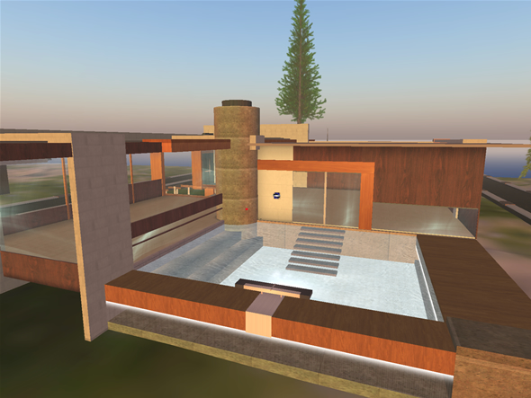 Domino, Second Life private villa designed by Dakota Neumann