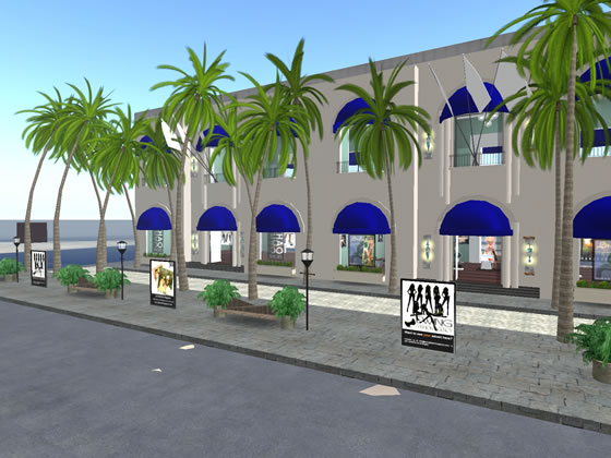 Ewing Fashion Agency's Second Life location