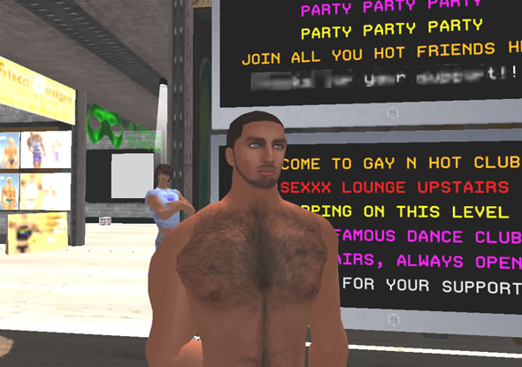 Club goer, Rober1 Finesmith, admits to wanting more from the typical gay, cruising scene.