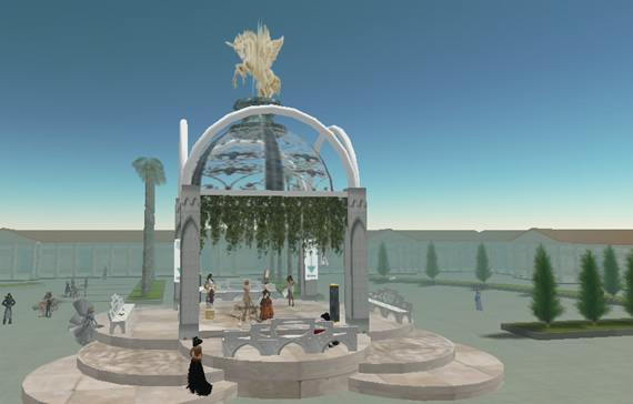 Second Life Sim, Insula Augusta Dome