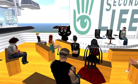 Second Life International Forum on March 19th in Second Life.