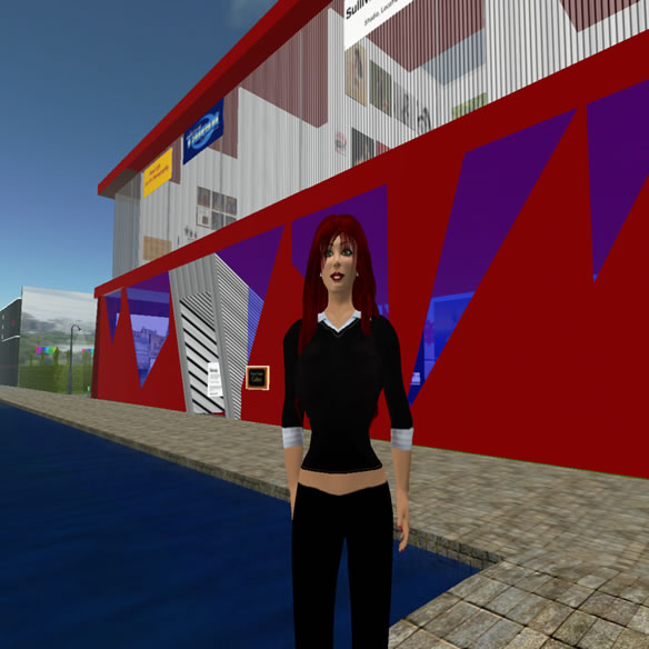 Second Life Business Woman and Entrepreneur Kay Lavessuer