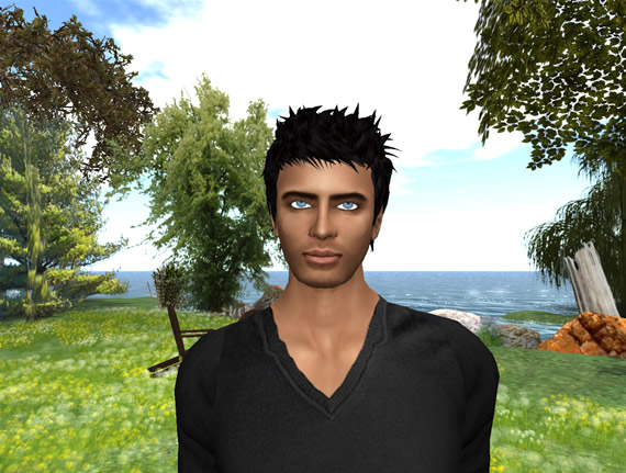 Professor Larry Mullen uses Second Life as a tool to teach his students.