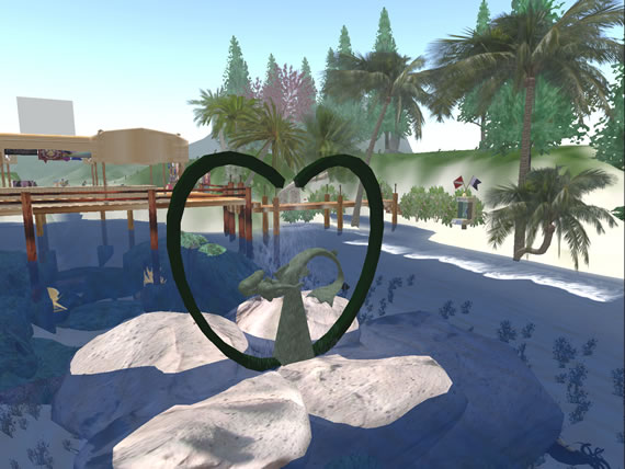 Isle of Lesbos offers a haven for lesbians in Second Life.