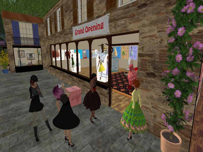 Second Life Business, Women in SL Business - Rolig Loon