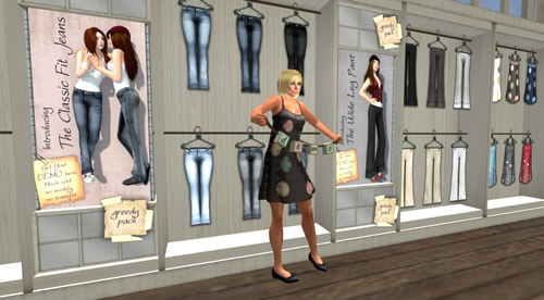 Second Life Style Report: Looking for SL Flesh in Mesh Clothing