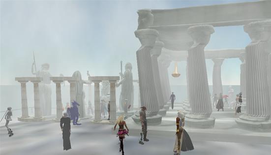 Second Life Concierge Party Mount Oplympus