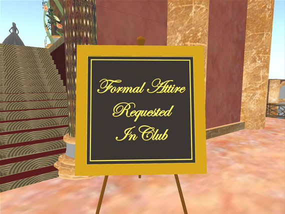 Phat Cats  requests all guests wear formal attire in the club.