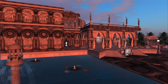 Avenue Models Front Facade in Second Life