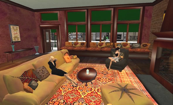 Cafe for the Gossip Girl sim was featured on the Meta Makeover show.