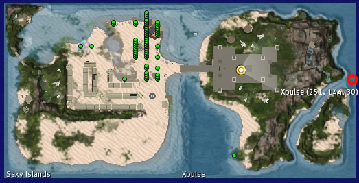 Wilder Islands has moved to Sexy Islands sim, neighboring Xpulse also owned by Gunter Vandyke.