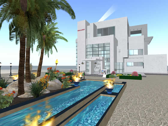 Sigma-Aldrich HQ building in Second Life