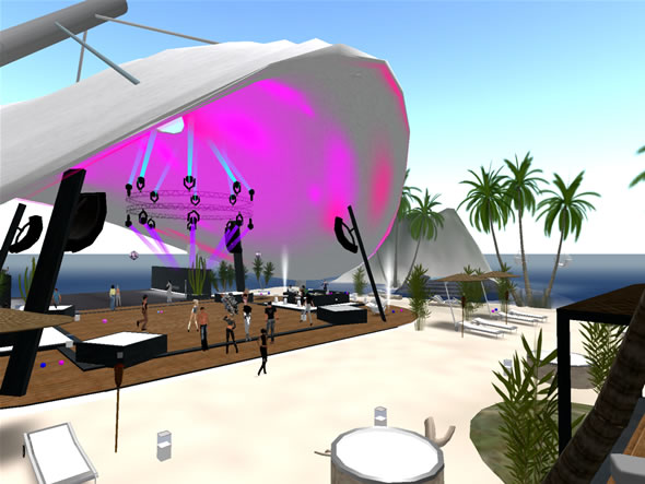 SLeek Beach Club, newest addition to the SLENTRE.Com Top 10 Locations in Second Life
