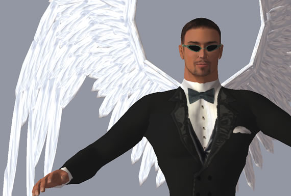 Second Life Real Estate entrepreneur Syd Chase, aka Sydney Chrome.