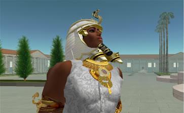 Timber Oceanlane as King Ramses