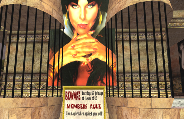 House of V hosts slave auctions in Second Life