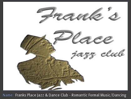 Franks Place, Second Life Top Destination