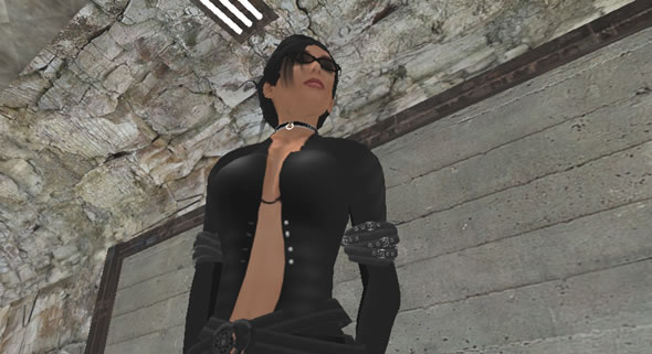 Sevina Decosta, Second Life roleplay player