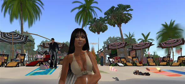 Laguna Bay Nude Beach, Top Destination in Second Life