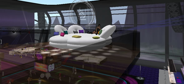 Bad Girls Club, Top Destination Second Life