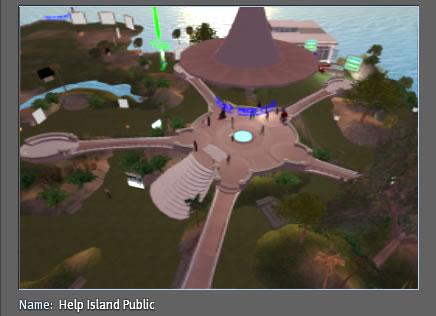 Help Island Public, Top Destination Second Life