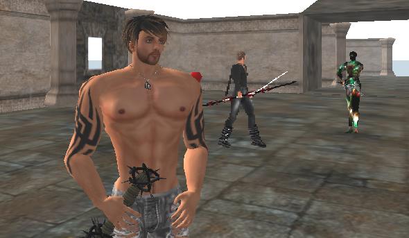 Internal Ville player prepares for battle