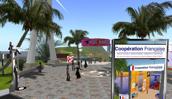 Gaia, Top Second Life Location