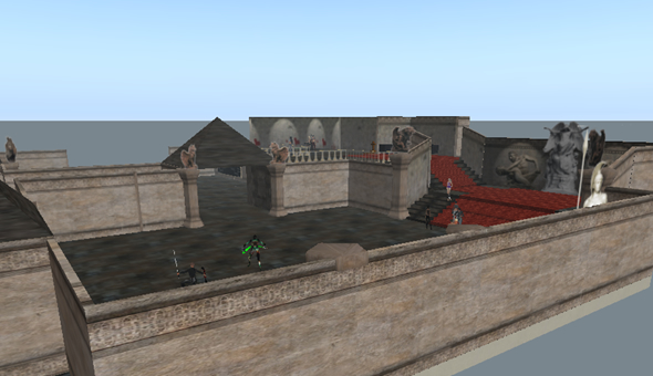 Internal Ville, combat role play in Second Life top locations