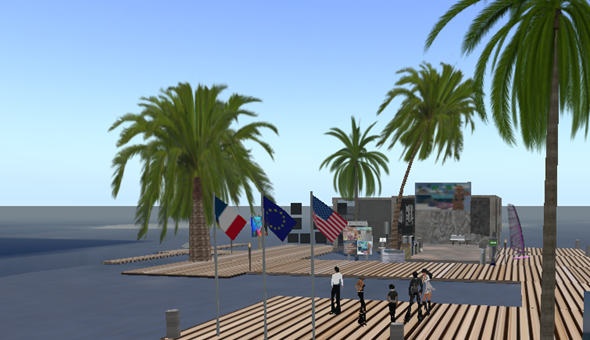 Passion Island, Second Life Location