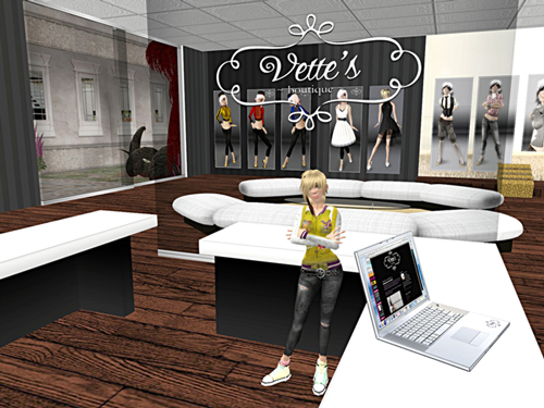 Vette DeCuir's business location in second life