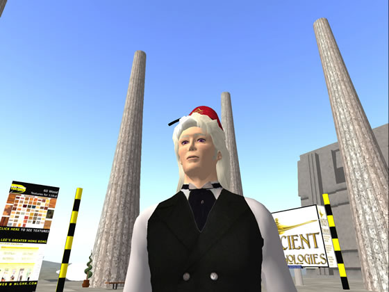 Ancient Shriner, aka Jared Freeman developer of V-Tracker discusses platform components on his Second Life sim.