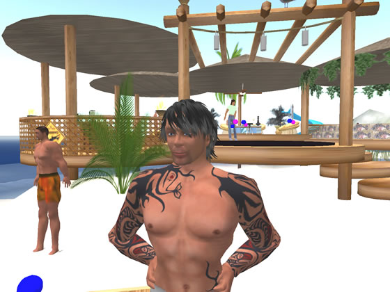 Mactabilis Gravois claims that Second Life residents visit the islands to make new friends.