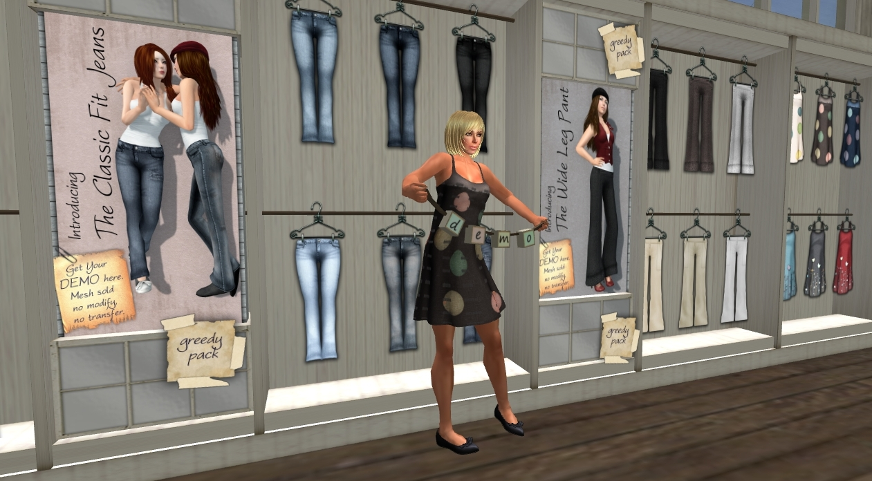 Slentre Com Second Life Style Report Looking For Sl Flesh In Mesh Clothing
